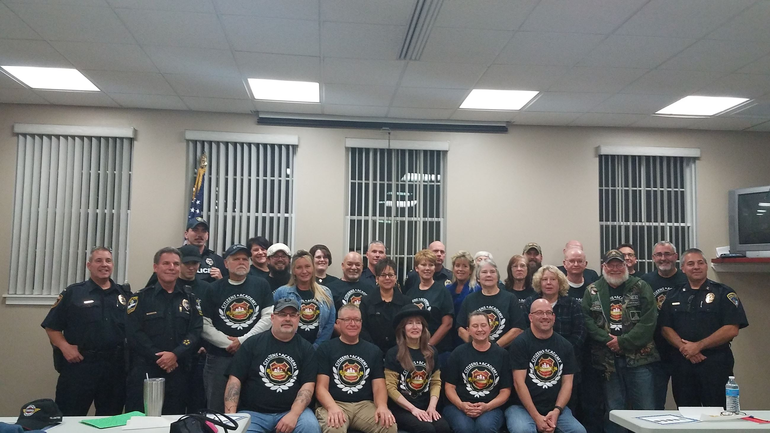 Citizens Academy. 2019. Group pic